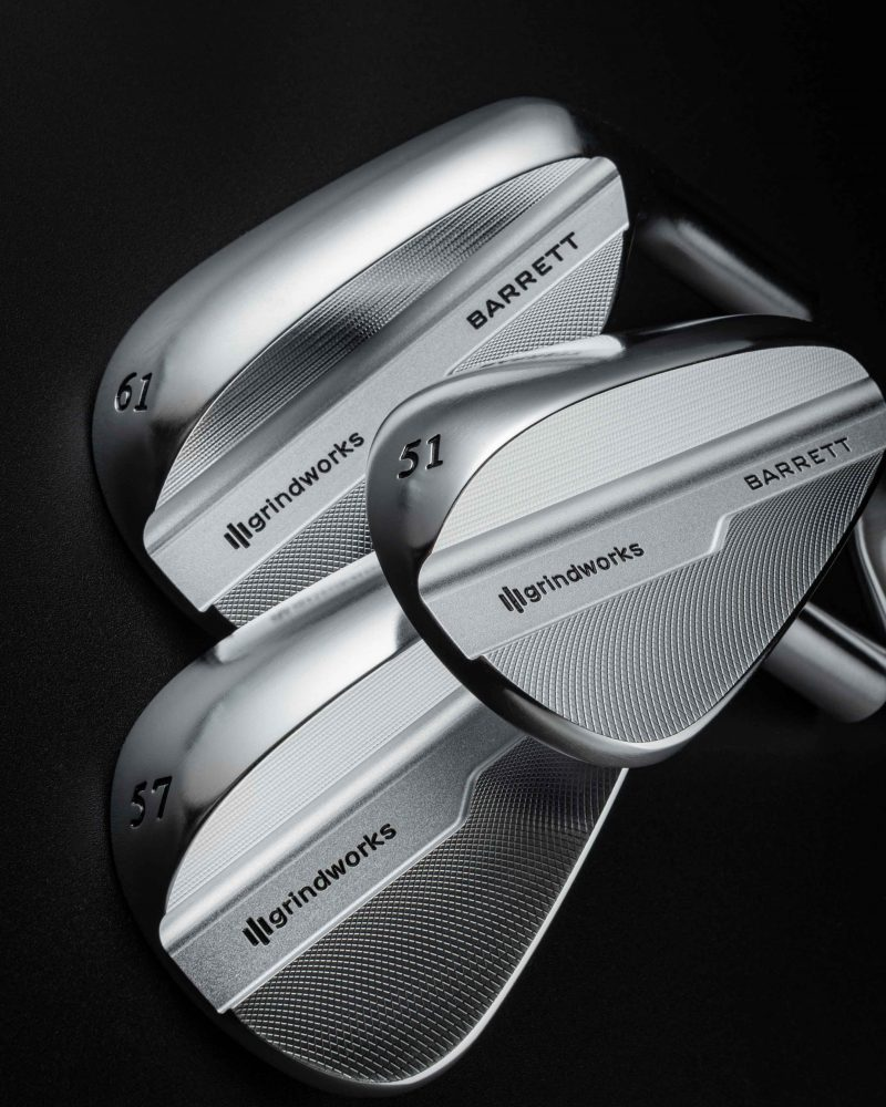 Grindworks + Patrick Reed – The Barrett Wedge Collection